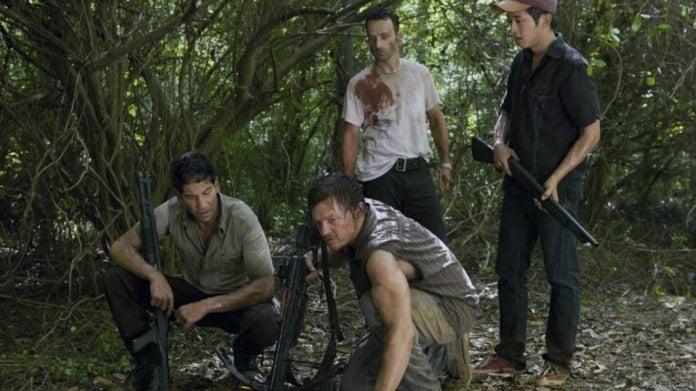 The Walking Dead Andrew Lincoln Norman Reedus Jon Bernthal
