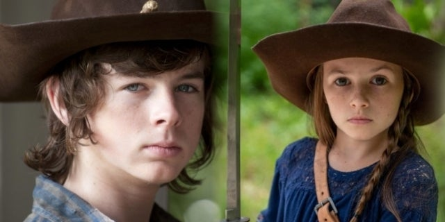 The Walking Dead's Chandler Riggs Would Have Loved to Work With Cailey Fleming's Judith Grimes