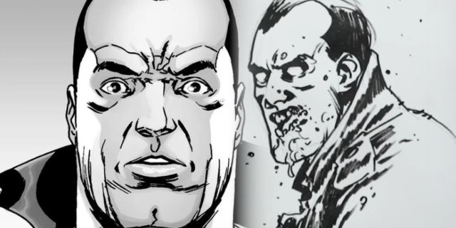 The Walking Dead Comic Book Artist Doesn't Know If Negan Is Alive or Dead