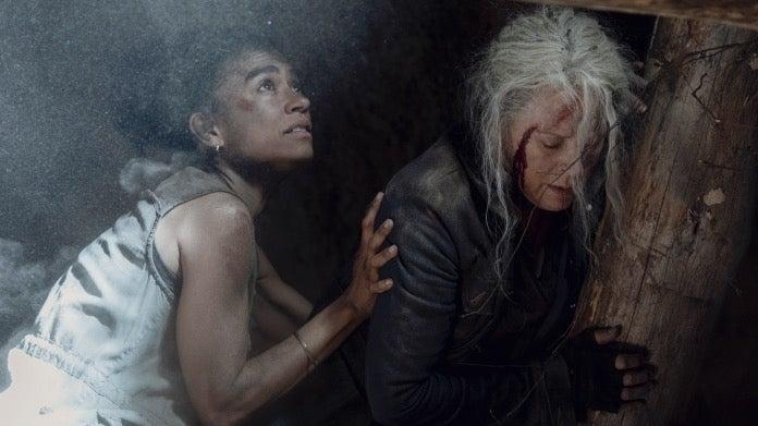 The Walking Dead Connie Carol Lauren Ridloff Melissa McBride