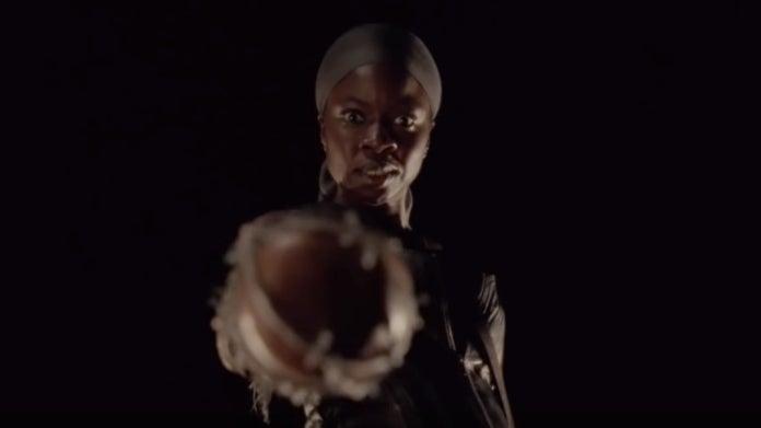 The Walking Dead Danai Gurira Michonne Lucille 10B