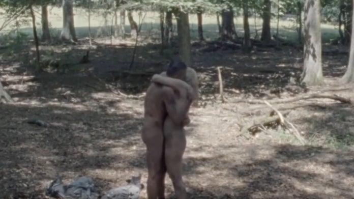 The Walking Dead Negan e Alpha cena de sexo