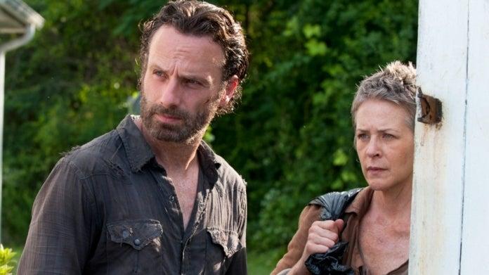 The Walking Dead Rick Grimes Carol Andrew Lincoln Melissa McBride