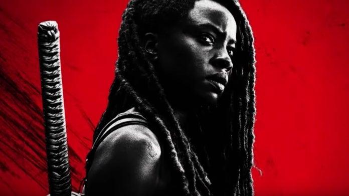 The Walking Dead Season 10B Michonne Danai Gurira