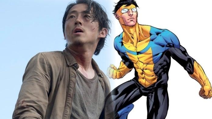 The Walking Dead Steven Yeun Invincible ComicBookcom