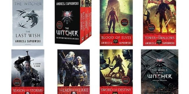 The Witcher Books Are Buy 2, Get 1 Free on Amazon