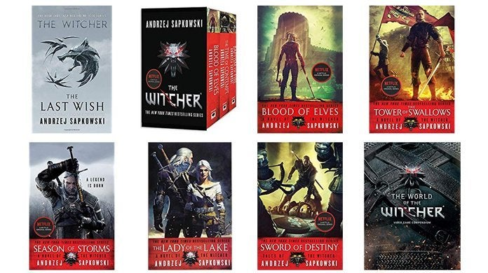 the-witcher-books