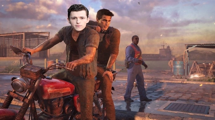 tom holland uncharted 4