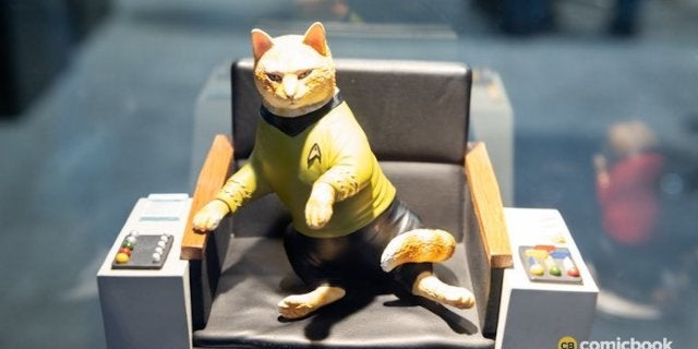 Toy Fair 2020: New Look at Star Trek Cats from Chronicle Collectibles