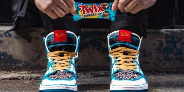 TWIX's Custom Cookies Creme Sneakers Selling for Thousands on Secondary Market
