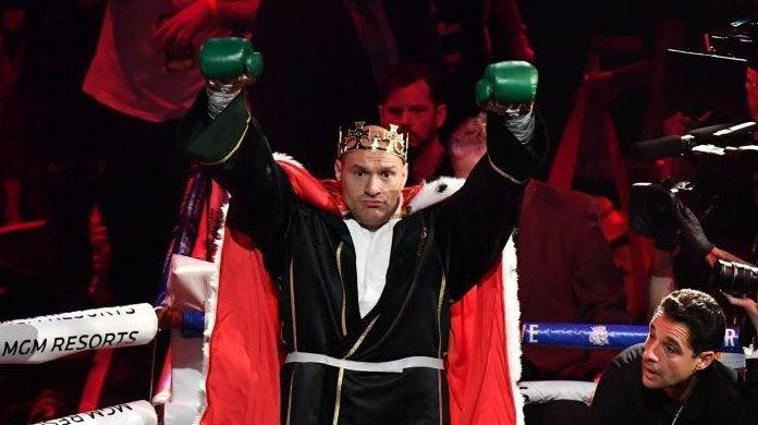 tyson fury vs deontay wilder wbc heavyweight championship
