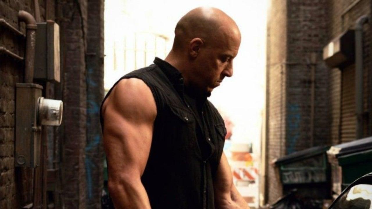 Vin Diesel Action Montage Mens Vest