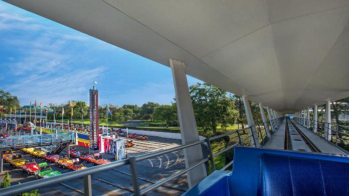 walt disney world tomorrowland peoplemover crash magic kingdom