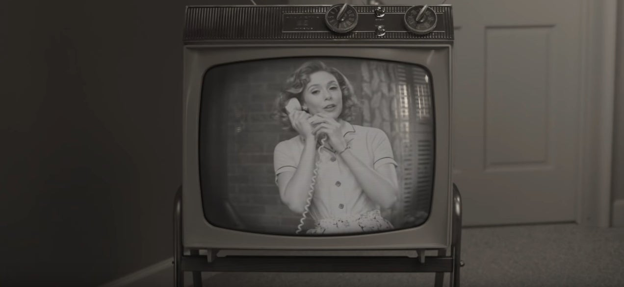 wandavision television set