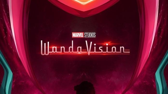 wandavision trippy fan poster