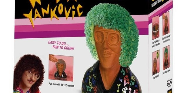 The Weird Al Chia Pet You've Been Waiting For is Here