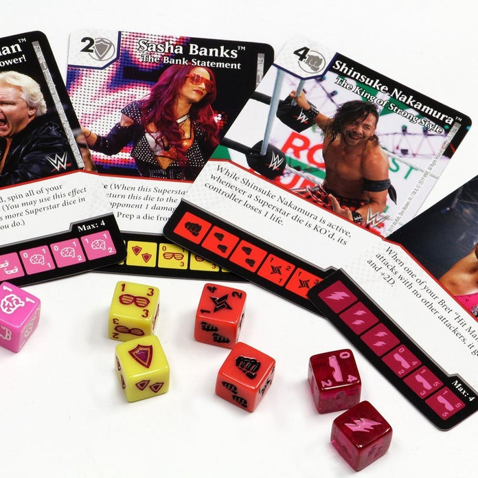 WWE-Dice-Masters-Cards