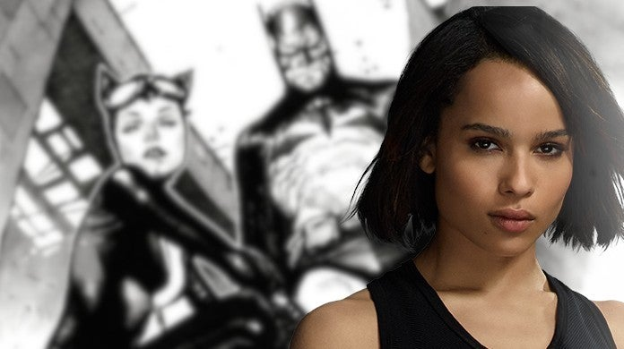 Zoe Kravitz Teases The Batman Catwoman Role Robert Pattinson