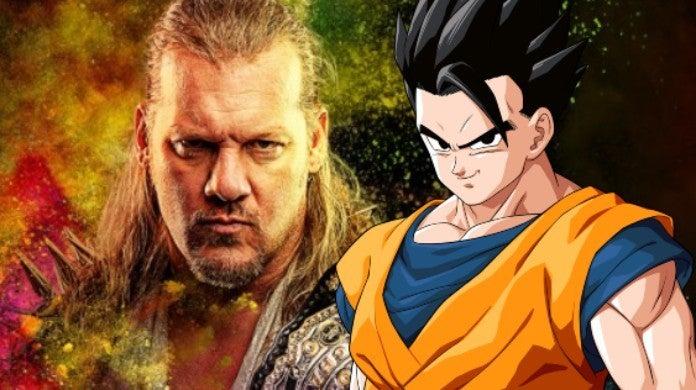 AEW Chris Jericho Dragon Ball Gohan