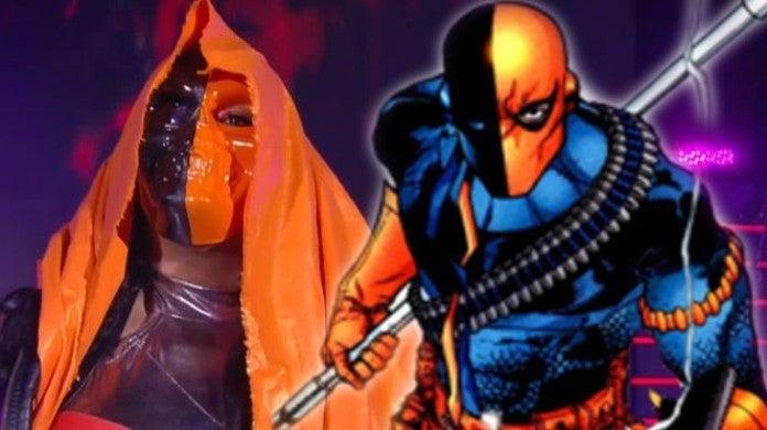 AEW Revolution Nyla Rose DC Comics Deathstroke