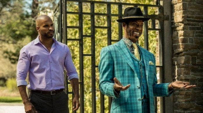 American Gods Orlando Jones Calls Out Ricky Whittle