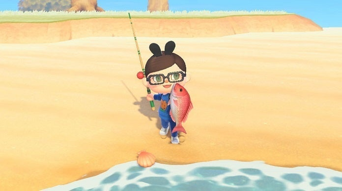 Animal Crossing New Horizons Fishing