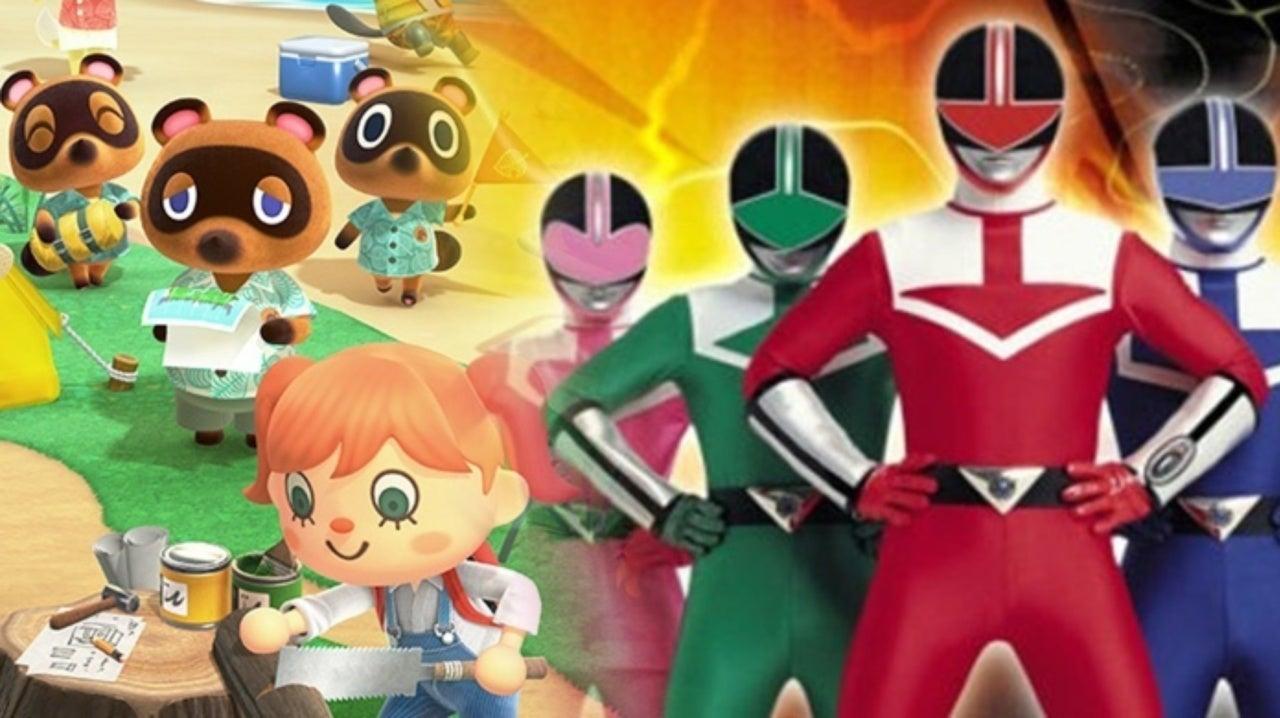 Animal Crossing New Horizons Player Creates Perfect Power Rangers Costumes