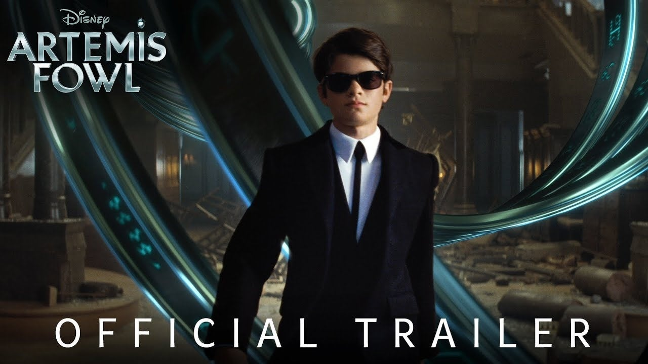 artemis fowl trailer disney