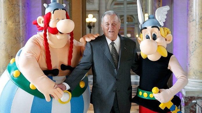 Asterix Creator Albert Uderzo Dead 92 Heart Attack
