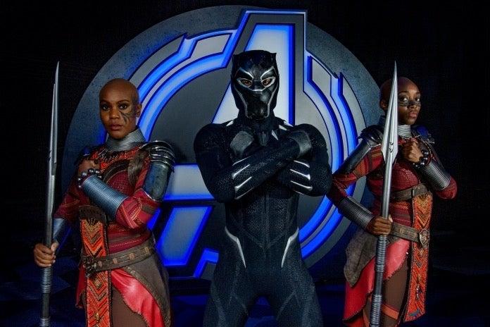 Avengers Campus Black Panther Dora Milaje