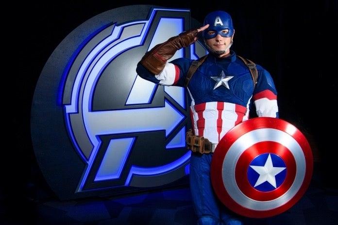 Avengers Campus Captain America