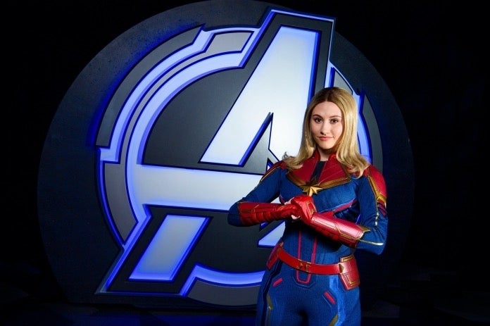 Avengers Campus Captain Marvel