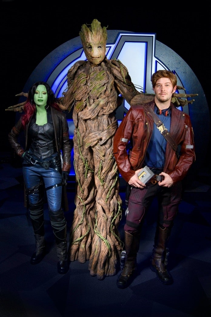 Avengers Campus Guardians of the Galaxy