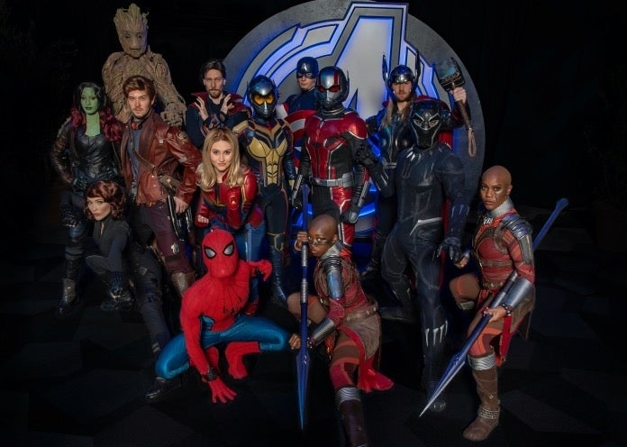 Avengers Campus Marvel superheroes Joshua Sudock Disneyland Resort