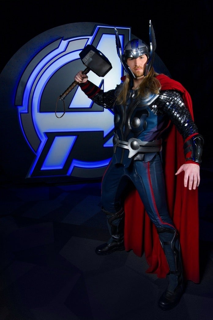 Avengers Campus Thor