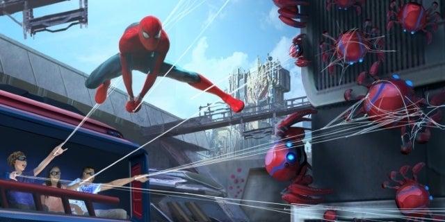 Avengers Campus WEB SLINGERS A Spider-Man Adventure