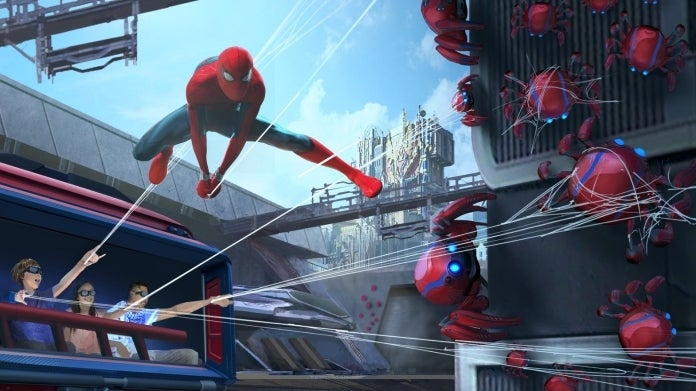 Avengers Campus WEB SLINGERS A Spider-Man Adventure