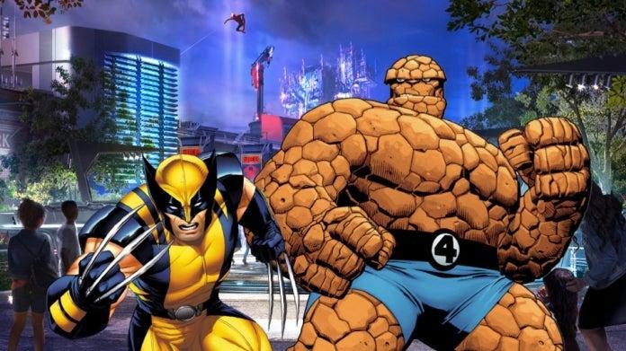 Avengers Campus X-Men Fantastic Four COMICBOOKCOM