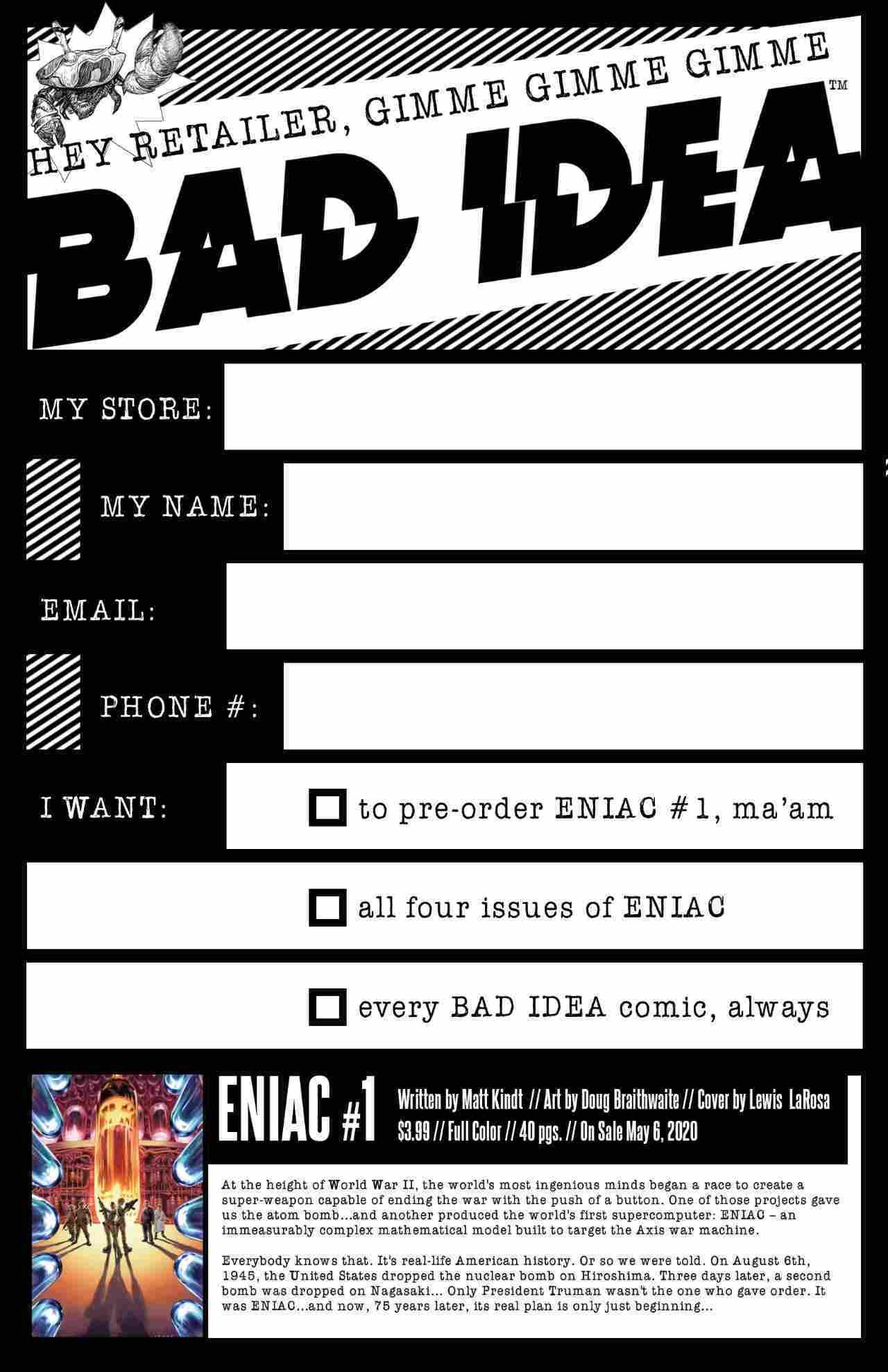 BAD-IDEA_ORDER-FORM_ENIAC_001_web