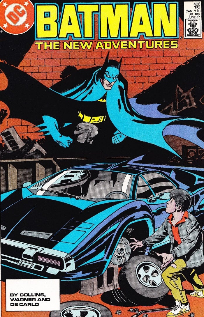Batman The New Adventures 408 Jason Todd Origin Batmobile