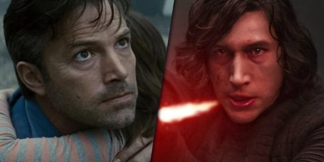 Star Wars: Ben Affleck Reveals Adam Driver Saved Son's Birthday Party With Kylo Ren Toys