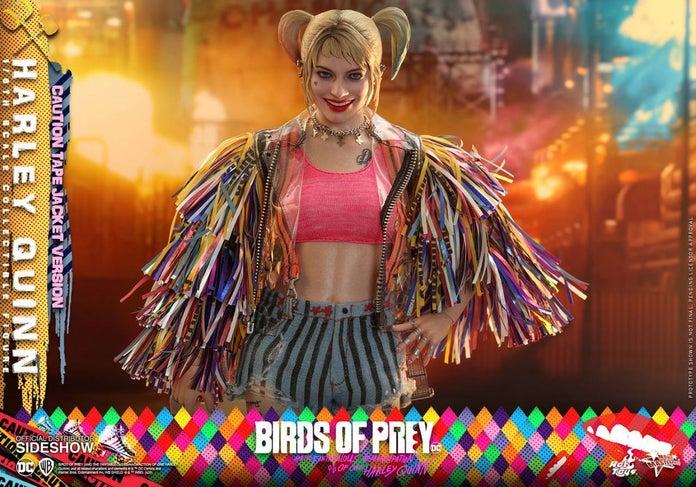 Birds-of-Prey-Harley-Quinn-Caution-Tape-Jacket-Hot-Toys-Figure-7