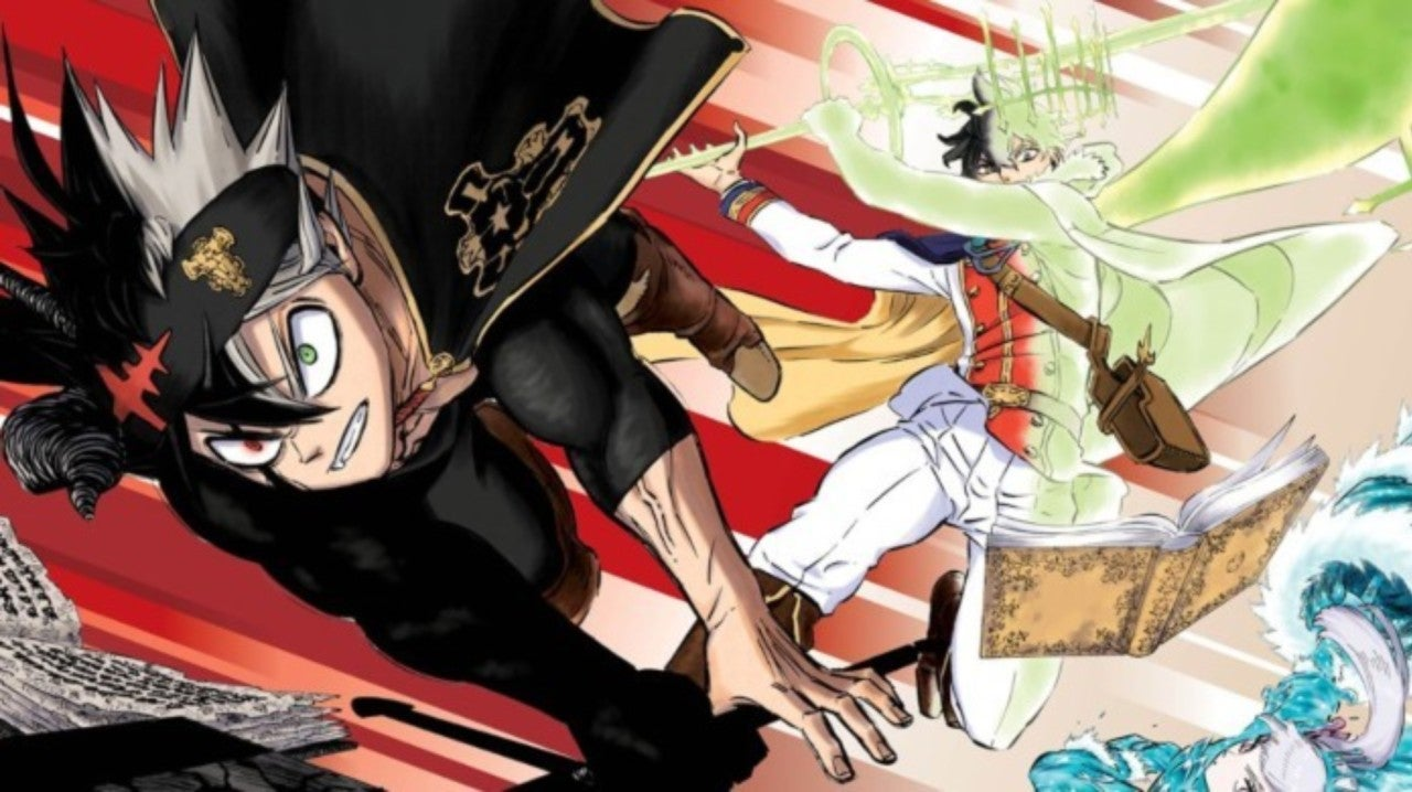 Black Clover Impresses with New Color Spread