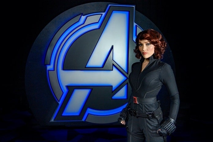 Black Widow Avengers Campus