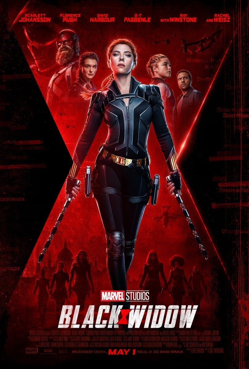 New Black Widow Poster Released by Marvel