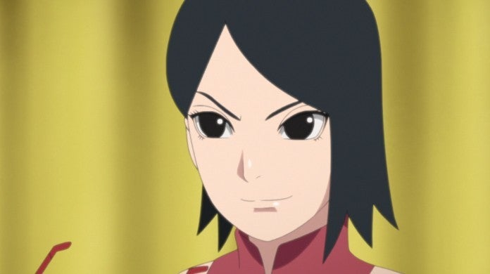 Boruto Naruto Sarada Anime