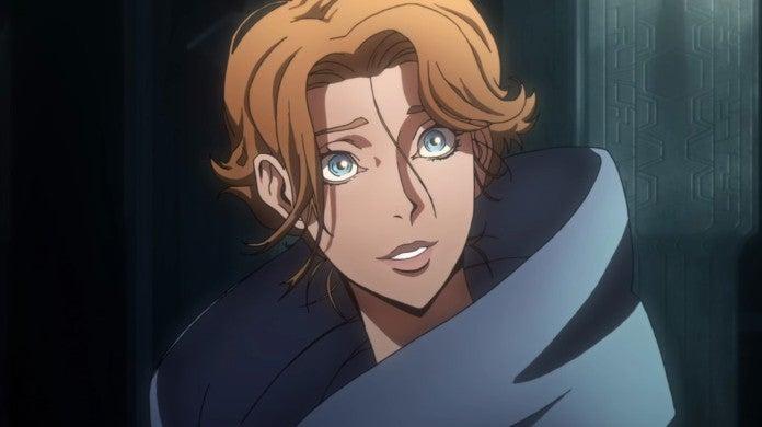 Castlevania Sypha Anime