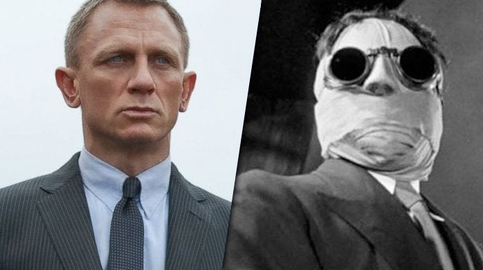 daniel craig the invisible man james bond