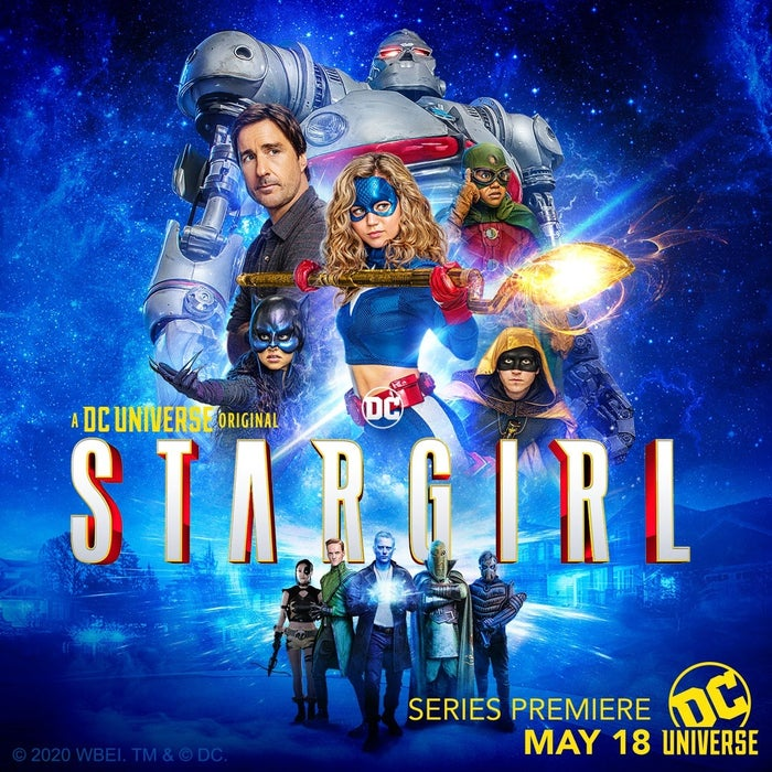 DC Universe Stargirl Series Poster JSA Injustice Society Costumes First Look