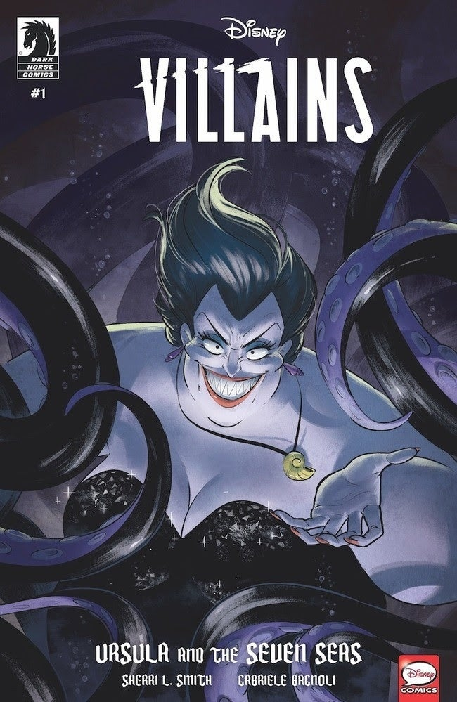 Disney-Villanos-Dark-Horse-Comics-Ursula
